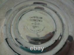 Vintage Pair Of Gorham 808/1 Sterling Silver Candelbra 11.5 Candlesticks