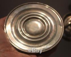 Vintage Pair Sterling Silver Gorham Candelabra 3 Lights Candlesticks #668