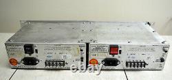 Vintage Pair UREI LA-4 Compressor Limiter Silver Face Serviced and Recapped