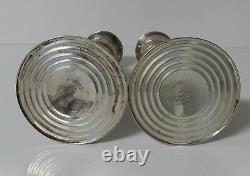 Vintage Pair of Gorham Sterling Silver Weighted Candlesticks 815/1
