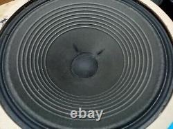 Vintage Pair of Silver/blue 1088 Celestion Alnico Speakers Vox AC30