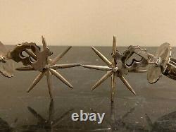Vintage Pair of Sterling Silver Spurs 85 Grams