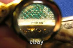 Vintage Sterling Silver Art Deco Handbag Purse Ornate Couple-Man Woman Germany