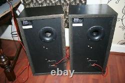 Vintage Technics SB-CS65 3-Way LOUD Speakers Pair Great Condition 120W