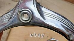 1946 1947 1948 Pontiac Headlight Bezels Doors Rings Original Gm Paire