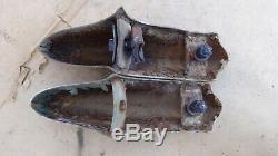 1946 1947 1948 Pontiac Pare-chocs Arrière Gardes Paire Originale Gm