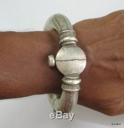 Ancien Bracelet Ancien Vintage En Argent Avec Bracelet De Cheville Paire Hippie Gypsy