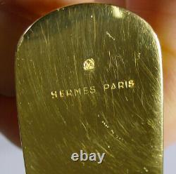 Anneaux De Serviette En Tête De Cheval Casé Vintage Paire Par Hermes, Paris