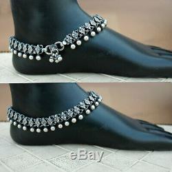 Antique Vintage Tribal Anklet Paire Main 925 Femmes Bijoux Old Rechercher