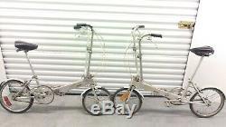 Bickerton Pliable Vélos Vintage Bikes (1 Paire Vélos D'origine)