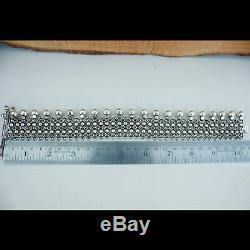 Cadeau De Mariage Vintage Fait À La Main Bracelet Unique Bracelet De Cheville Du Rajasthan 925 Argent