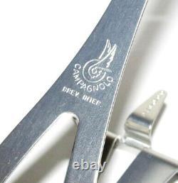 Campagnolo Superleggeri Large Alliage 0990/05 Clips Des Orteils Nouveaux Nos Vintage-rare
