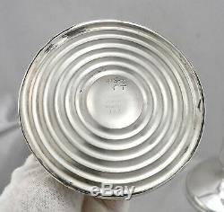 Cartier Vintage Argent Sterling 9 Grand Paire De Bougeoirs Bougeoir # 377