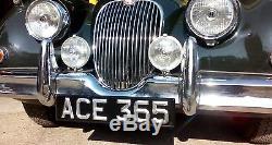 Classic & Vintage Ace Peak, Plaques D'immatriculation, Noir Et Argent, (paire)