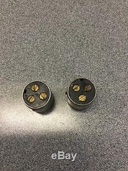 Connecteur De Câblage Vintage Ancien De Tige De Rat X2 == 1 Paire Phare Phare Lampe Frontale Scta