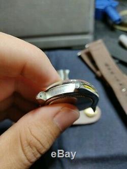 Deux Oysterdate Rolex Vintage Precision 6694 Inoxydable 34mm Date De Montres Paire