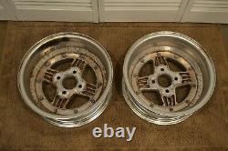 Ensemble De (2) Roues Ssr Mk2 15x6.5 4x114.3 Jdm Wheels Rare Vintage 15 Paire Mk-2