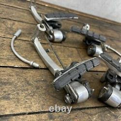 Ensemble De Freins Shimano Deore Xt Br-m737 Canti Vintage Mtb Paire Japon V-brake