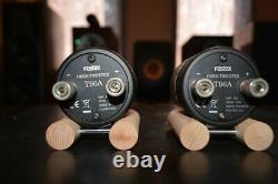 Fostex T96a Horn Super Tweeter Unité Pair Used Japon Haut-parleur Pilote Vintage Rare