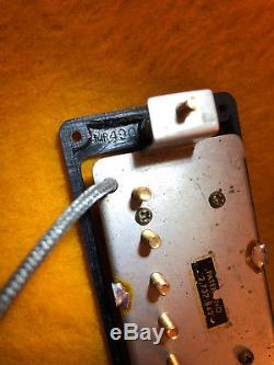 Gibson Vintage Numéro De Brevet De Ramassage N ° 1962 1963 1964 1965 Paire Appariée