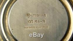 International Vintage 100 65-8 En Argent Sterling Paire De Candelabraswow