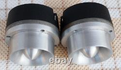 Jbl 075 Horn Tweeter Pair 8ohm Aluminium Used Japan USA Vintage Altec Ex Rare