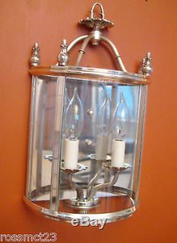 Lumières Vintage Paire 1970 Appliques D'argent Lightolier Jamais Utilisé