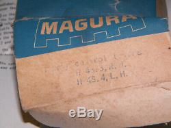 Magura Nos Embrayage Frein Paire Levier H 48,3, R. H. H48.4, Millésime L. H. 1960