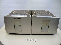 Marantz Ma-7 Monoblock Power Amplificateur Stereo Pair Used Japan 100v Vintage Rare