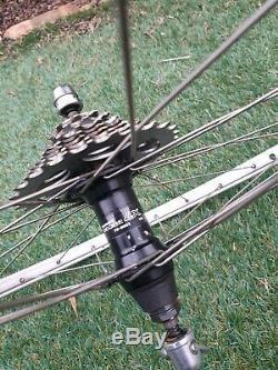 Mavic 230 Sbp Jantes Sur LX Shimano Hubs 32h 26 Wheelset Paire Vgc Vintage 1990