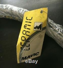 Mavic M231 Profil Psp Jantes En Céramique (2) Paire Vintage Vrc Vtt 36h Nos Jamais Lacé