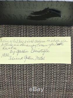 Millésime Art Déco 1930 Paire De Caves À Sel En Argent Terie Gallia Christofle