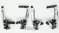 Nos Shimano Xt Br-m750 Paire V-freins Calipers Vintage 90 Mountain Bike Set Nib
