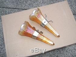 Original 1920 1930 S- Auto Vintage Vases Avec Crochets Paire Ford Gm Chevy