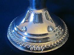 Pair 2 Bras Candlesticks! Vintage Empire Pondéré Sterling 925 Silver Excellent