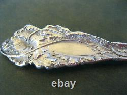 Pair Vintage 5 1/8 Spoons Love Disarmed Argent Sterling Reed & Barton Figural