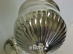 Paire (2) Vintage Reed Barton 1949 Sterling Silver 6-1 / 4 Vin Gobelets Excellent