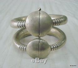 Paire De Bracelet Bracelet Cheville Pieds Vintage Bracelet Argent Vintage