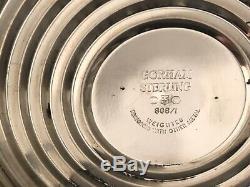 Paire De Candélabres À 3 Bougies Gorham En Argent Sterling Pesé Vintage Gorham 808/1