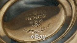 Paire De Candélabres Vintage En Argent Massif Gorham 1/808 Convertibles