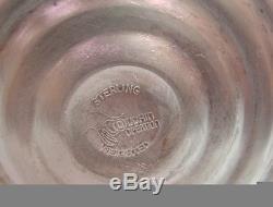 Paire De Candélabres Vintage En Argent Sterling À 3 Branches Duchin