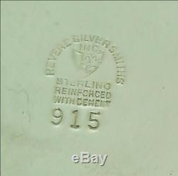 Paire De Candélabres Vintage En Argent Sterling À 3 Lumières De Revere