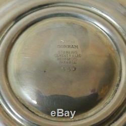 Paire De Chandeliers Vintage En Argent Massif 10 Gorham