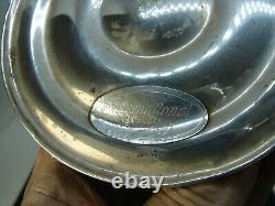 Paire De Chandelles De Candelas Pondérées En Argent Sterling International Vintage
