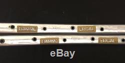 Paire De Jantes Tubulaires 36 Trous Fiamme Ergal Des Années 1970, Millésime 700c Gold Label Rare Nos