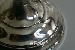 Paire De Porte-bougies Sterling Vintage D'épaisseur Pondérée Hamilton-numéro De Modèle 70