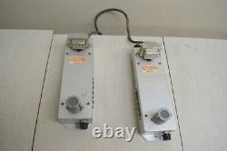 Paire De Portes Vintage Equalized Preamplifier Modèle M6244 Rca Altec We