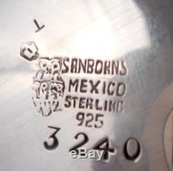 Paire De Seringues À Beurre Couvertes Sanborns Millésime Lions Sterling Immobilier Mexicain