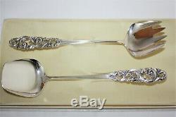 Paire De Serveurs Vintage Silver Tele Par Mylius Brodrene Norvège Dans La Boîte Originale