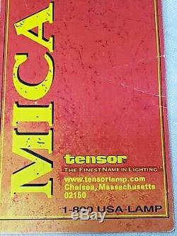 Paire De Vintage 1998 Tensor Mica Lampes De Table